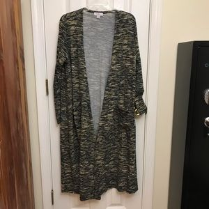 Lularoe Sarah Long Cardigan Sweater Medium